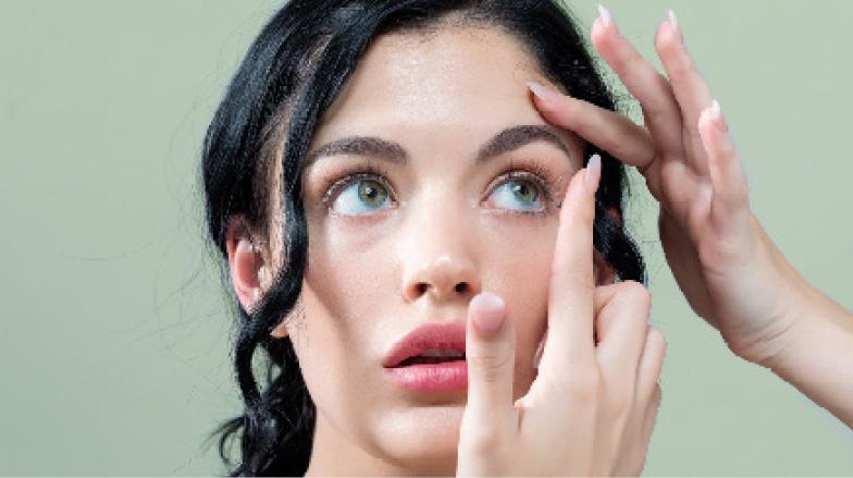 Sehtest in Thun Kontaktlinsen Anpassen